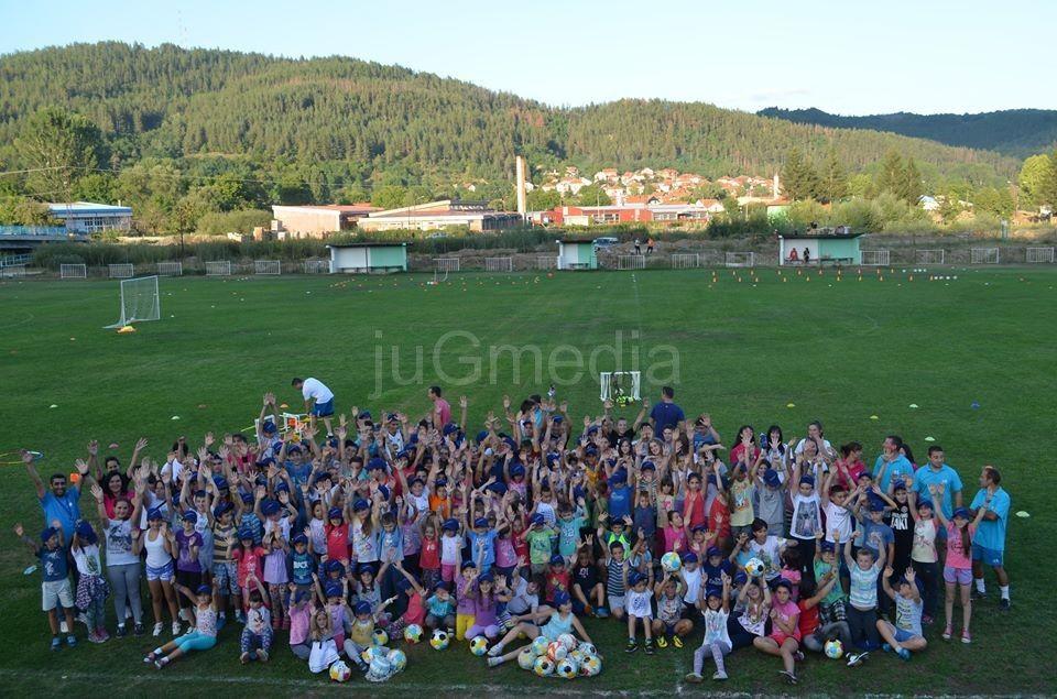Zabavna škola fudbala u Bosilegradu