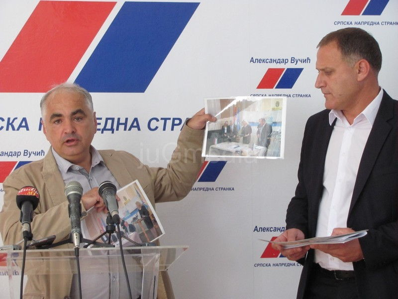 SNS: Cvetanović zaslužan za gradnju Fabrike za prečišćavanje otpadnih voda