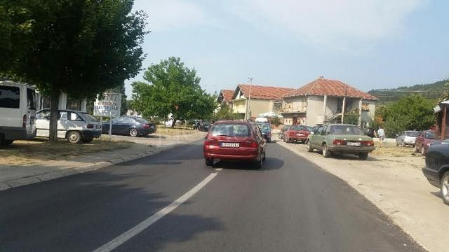 Novi kolovoz u centru Lebana