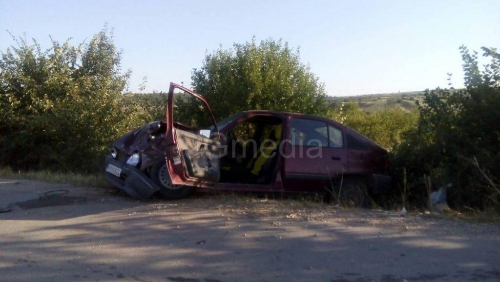 Dvoje povređeno u saobraćajnoj nezgodi kod Oblačine