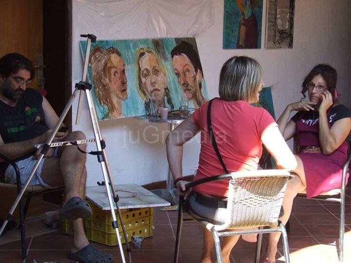 """Na likovnoj koloniji """"Ivstiniana Prima"""" 15 slikara"""