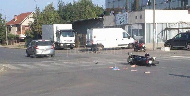 Saobraćajne nezgode u Leskovcu i Vlasotincu