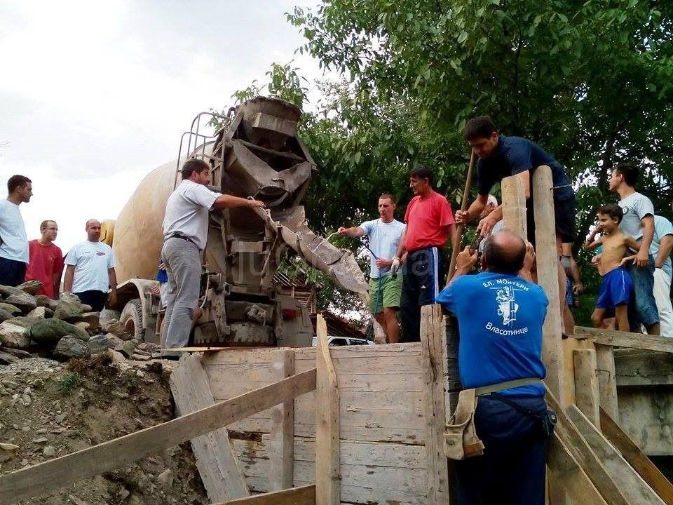 Meštani Donje Lomnice snašli se kako da poprave most