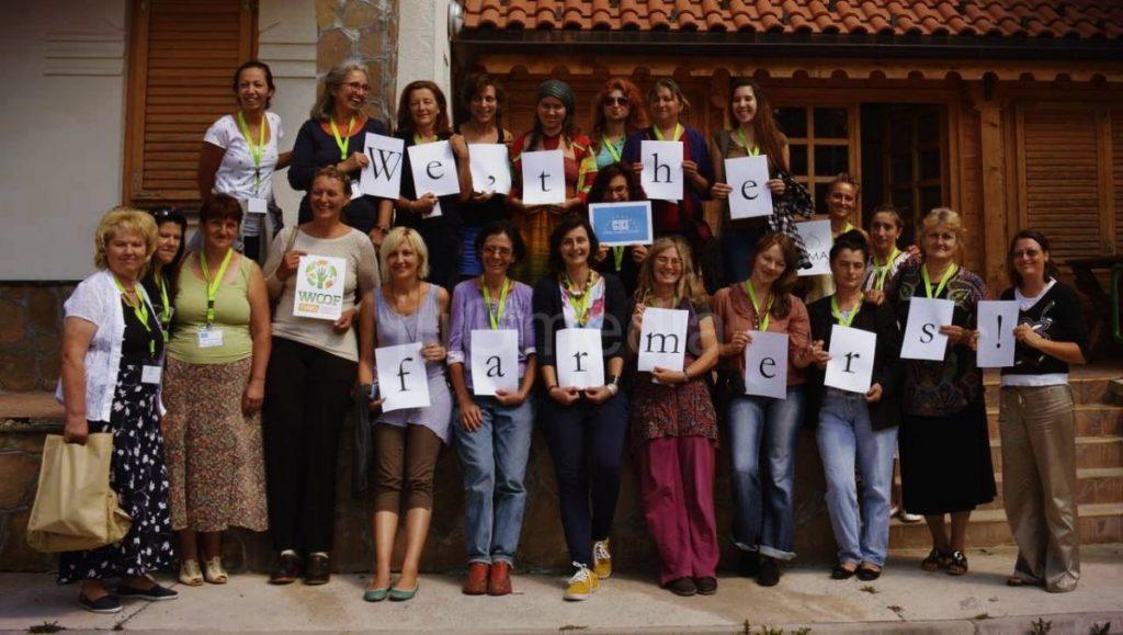 Skup žena poljoprivrednica iz centralne Evrope na Staroj planini
