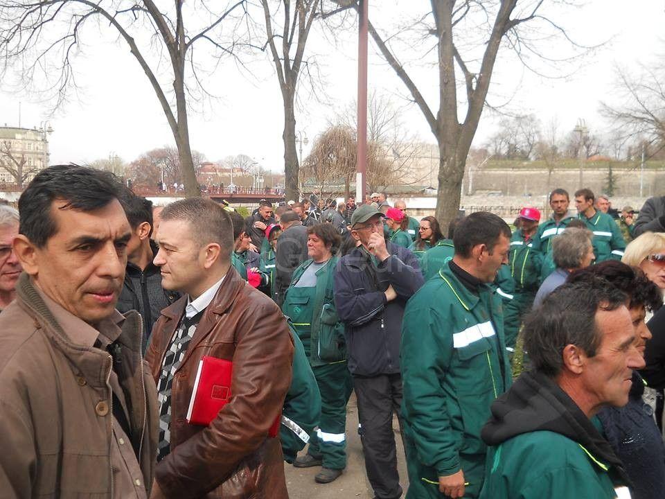 "Novi štrajk radnika ""Gorice"""