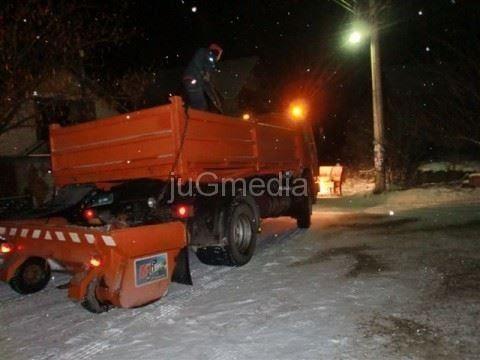 """""""Perica Jović"""" i Komunalac će čistiti Leskovac od snega i leda"""