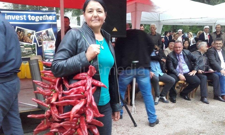 Vesna Milojković rekorderka u brzom nizanju paprika