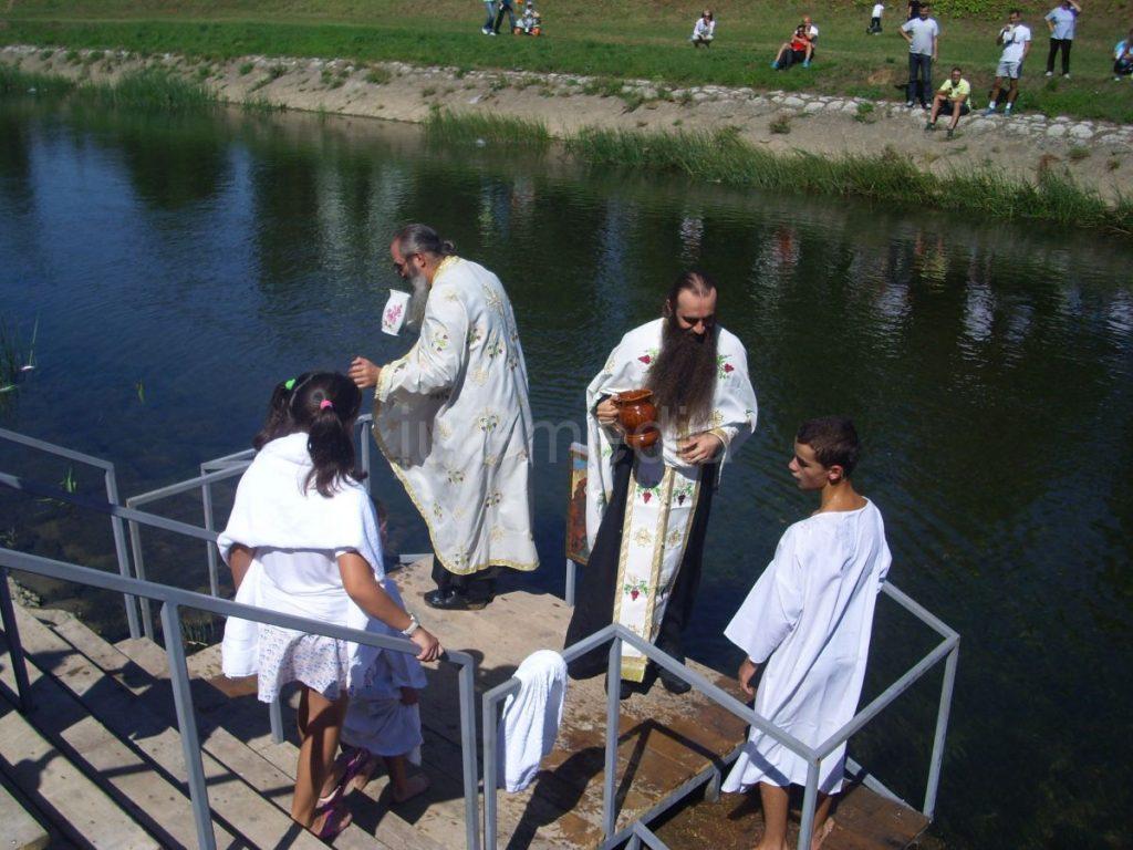 Masovno krštenje Piroćanaca na Nišavi