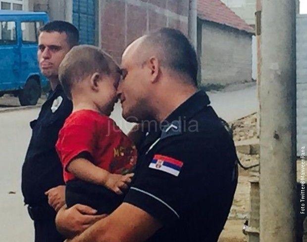 Redžep Arifi je ime policajca koji je raznežio svet