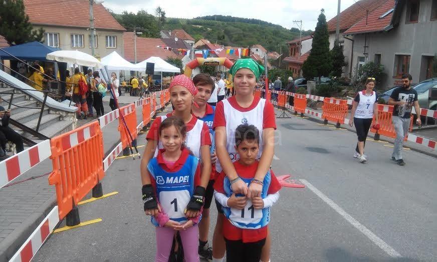 Slalom na rolerima u Vranju
