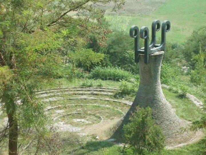 Spomen park – zapušteno arhitektonsko blago Leskovca