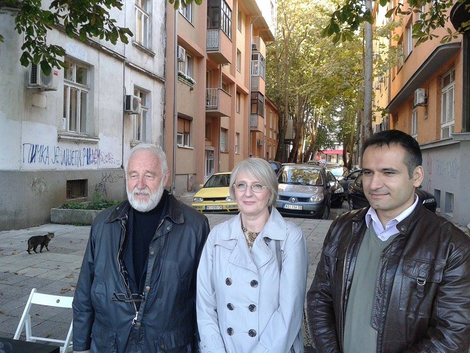 Zahtev za promenu urbanističkog plana Davidove i Balkanske ulice