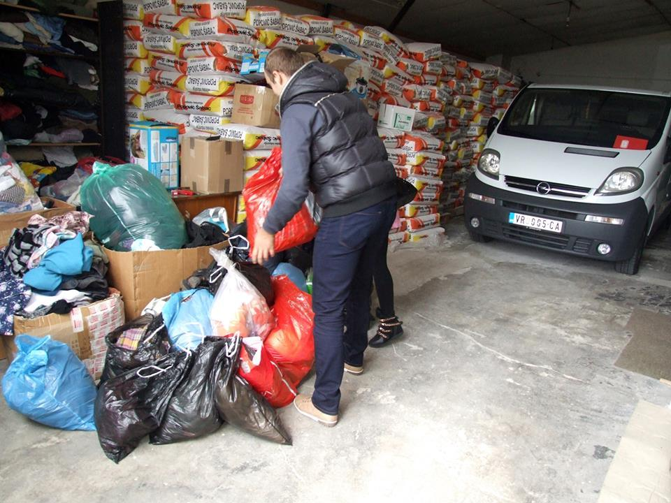 """Humana akcija organizacije """"Za naše Vranje"""""""