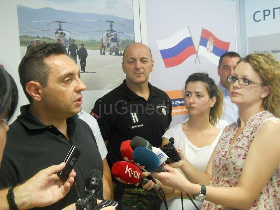 Ministar Aleksandar Vulin posetio Prihvatni centar za izbeglice