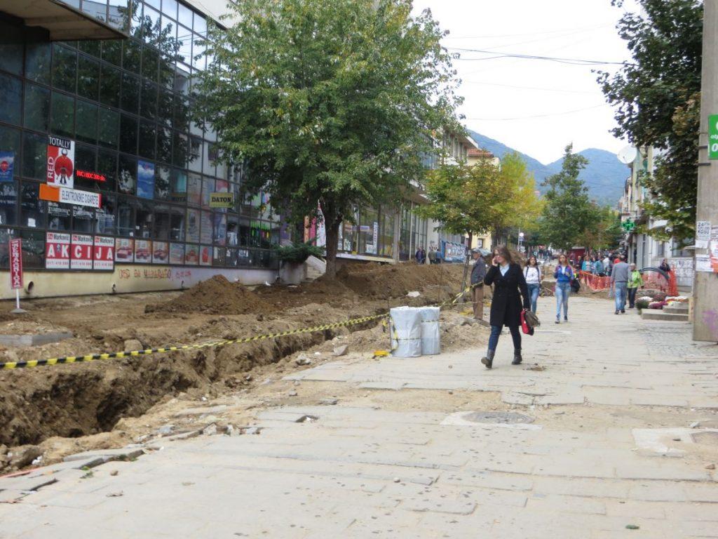 Potrošači u centru grada bez vode