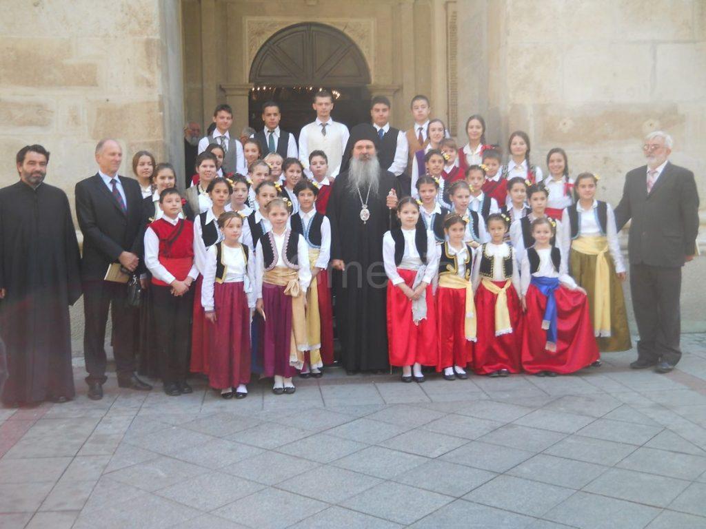 Vladika Teodosije prizvao božju pomoć za sve đake