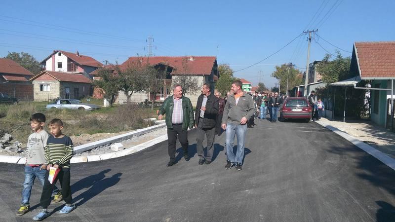 Asfaltirana još jedna ulica u Slavka Zlatanovića