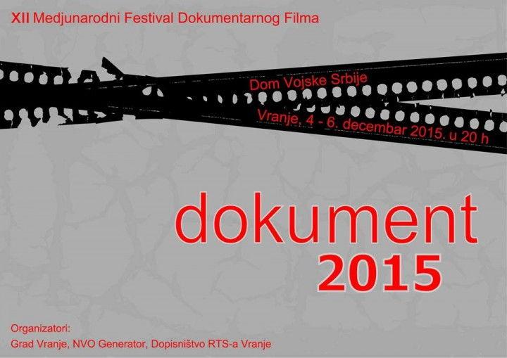 """U Vranju se održava Festival dokumentarnog filma """"Dokument"""" (VIDEO)"""