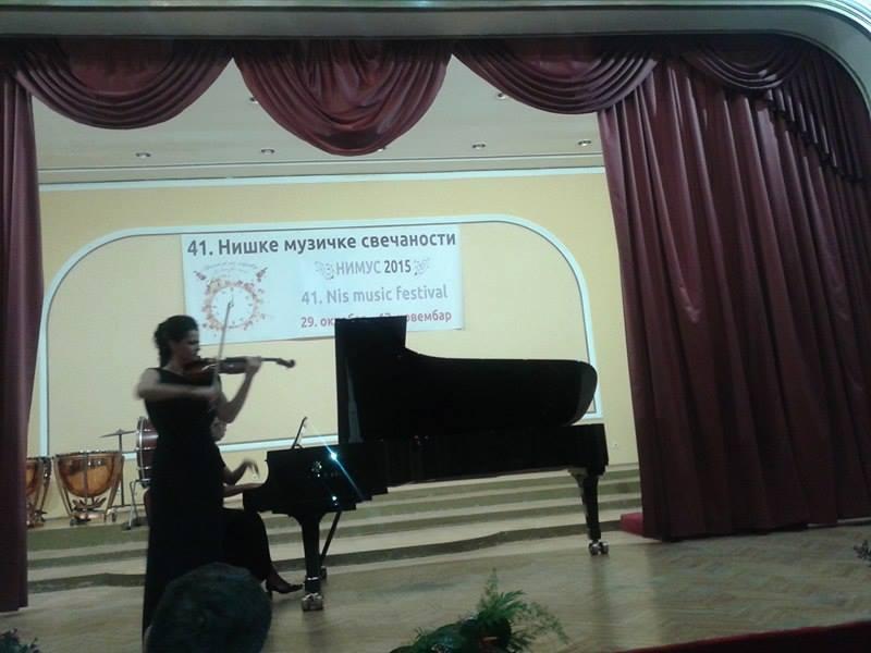 Lana Trotovšek oduševila publiku na NIMUSU