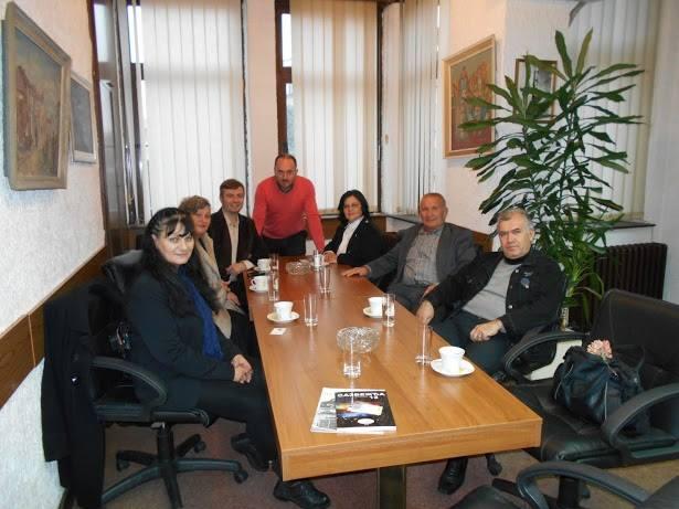 Prijem za delegaciju Saveza književnika u otadžbini i rasejanju