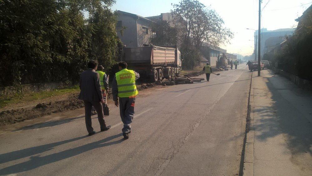 Radovi na rekonstrukciji ulice 28. marta