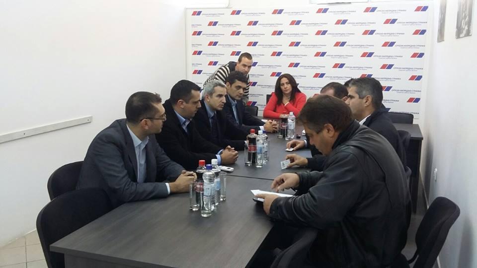 Sastanak novoosnovane SDSS i SNS u Vranju