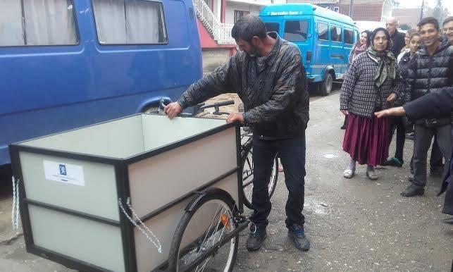 Stigli trocikli za sakupljače sekundarnih sirovina