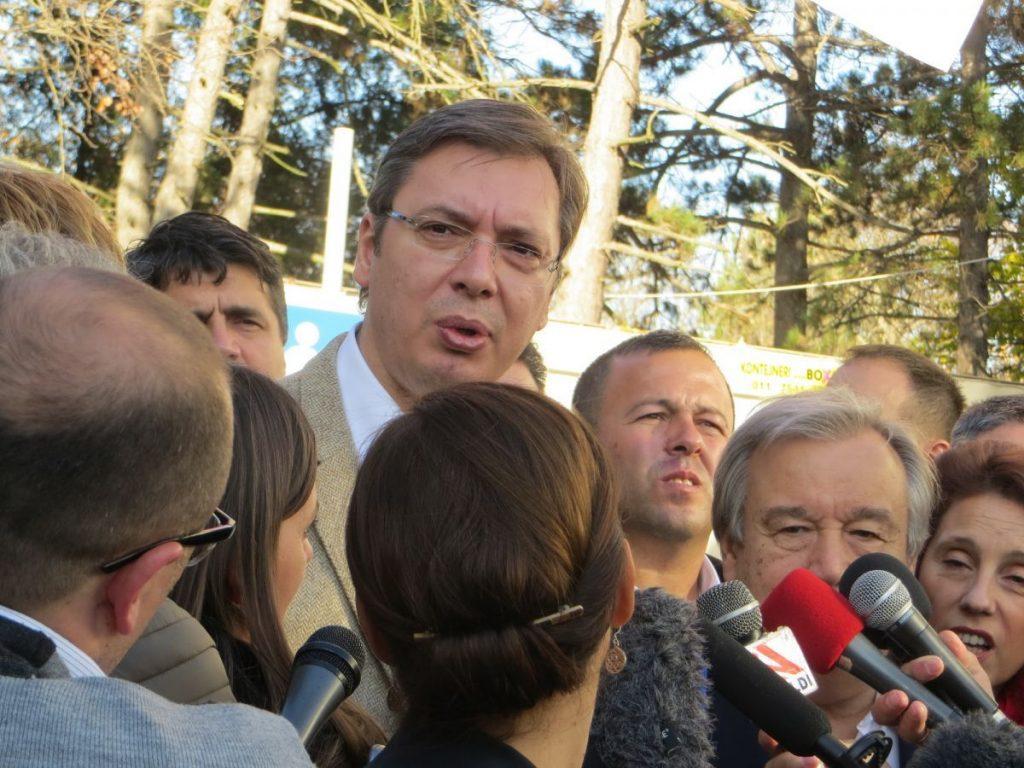 ALEKSANDAR VUČIĆ:Srbija neće podizati zidove