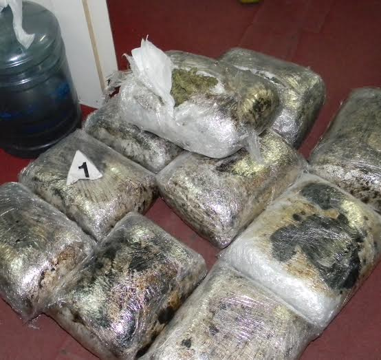 Pronađeno preko 16 kilograma marihuane u autobusu