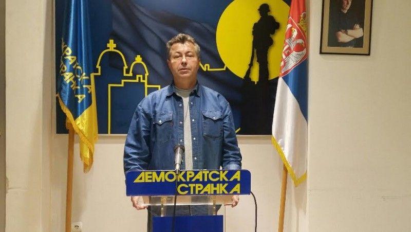 DS poziva na jedinstveni demokratski front