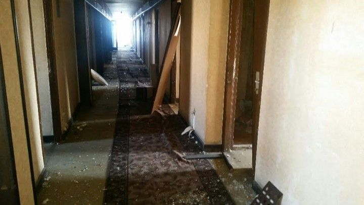 hotel beograd - hodnik