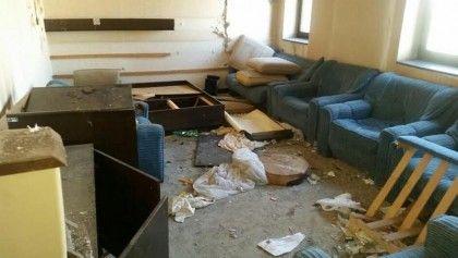hotel beograd - ruiniran