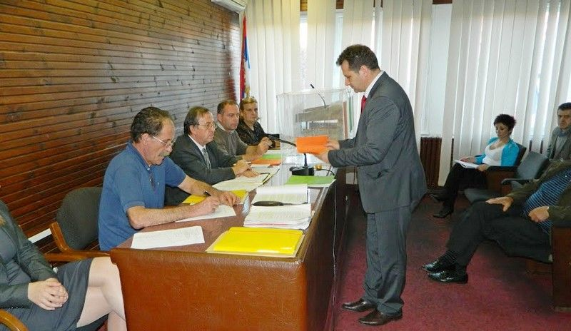 Nebojša Arsić novi predsednik opštine Medveđa