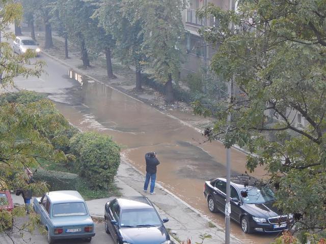 Poplavljena Nemanjina ulica
