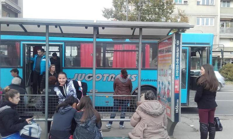 Da li znate gde prolazi gradski prevoz u Leskovcu?