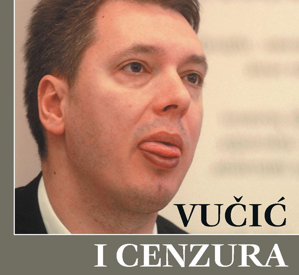 """Vučić i cenzura"" na Trgu kralja Milana"