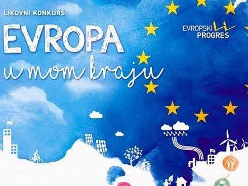 "Završen likovni konkurs za srednjoškolce ""Evropa u mom kraju"""
