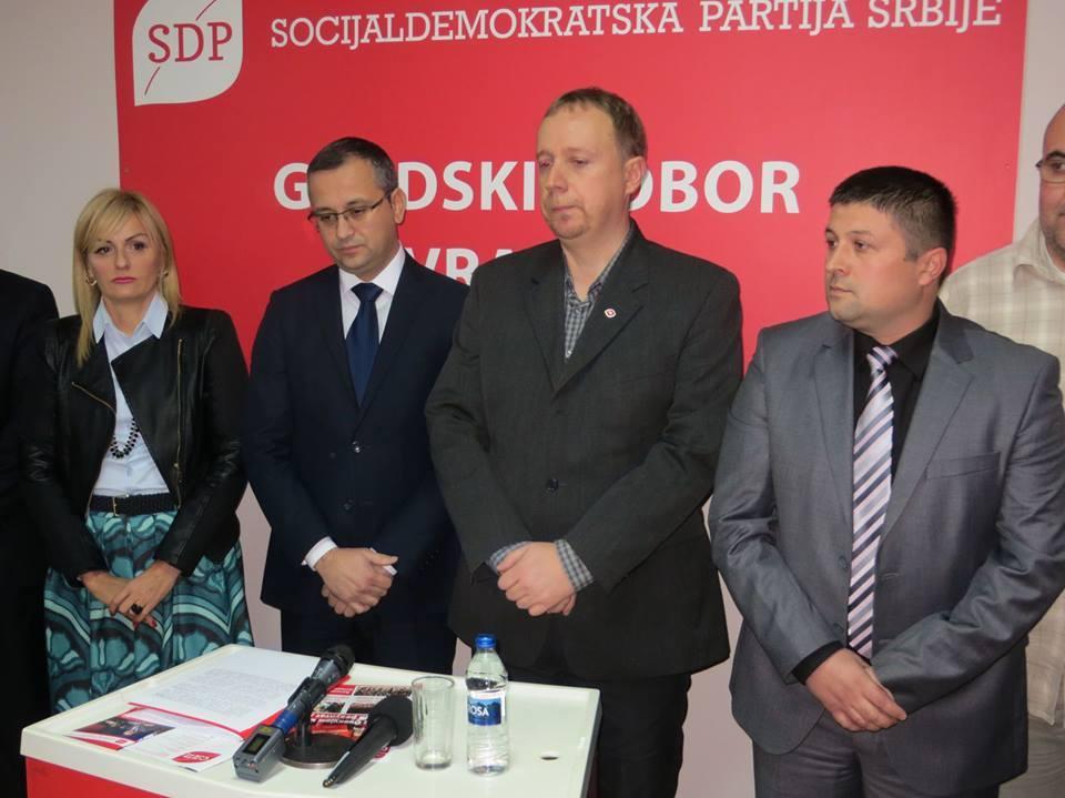 SDPS godišnjica stranke
