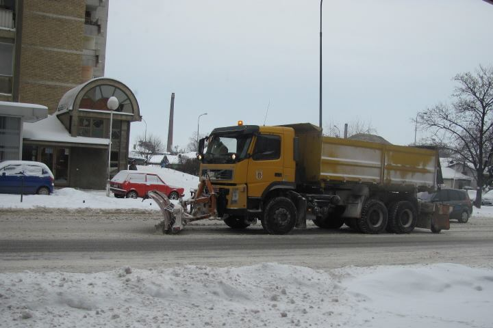 sneg u Leskovcu