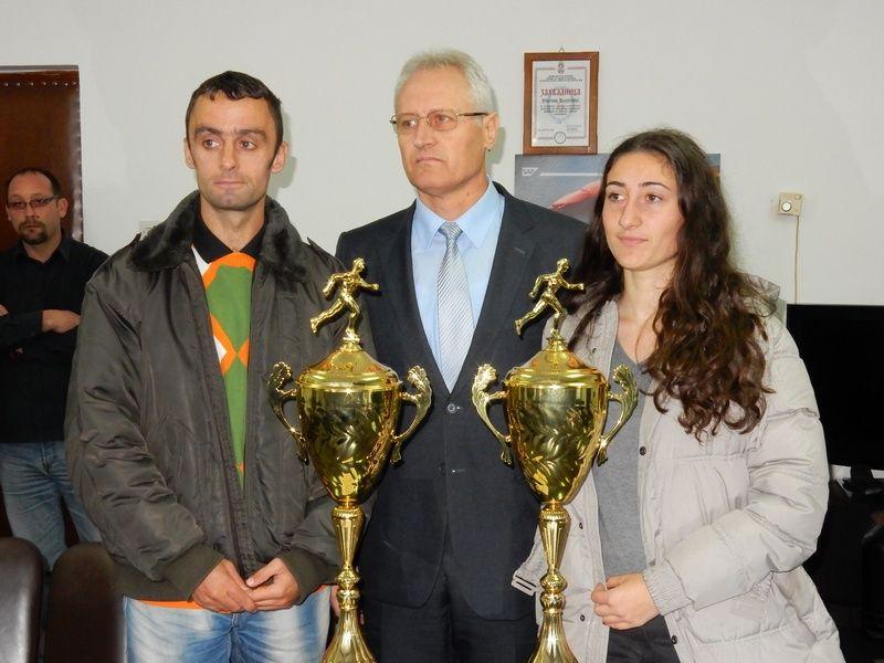 Predrag Filipović i Jovana Milosavljević vlasotinački sportisti godine