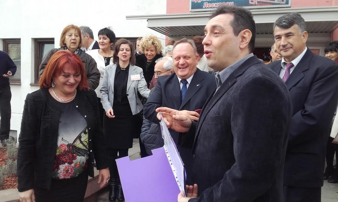 Vulin licencirao Ustanovu za odrasle i starije u Leskovcu