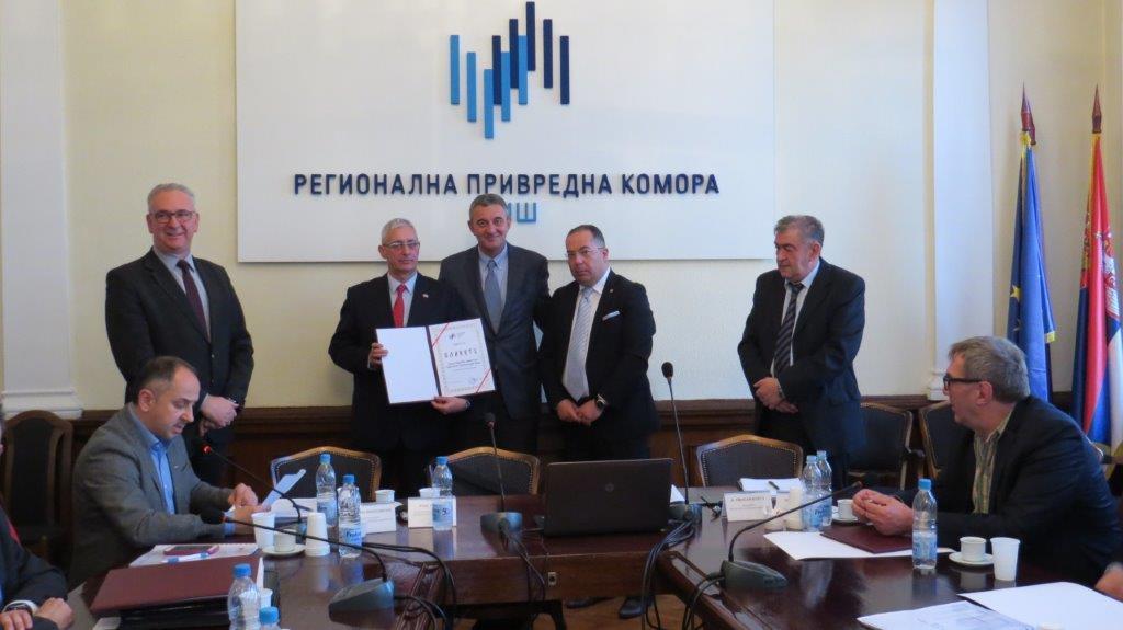 RPK Niš nagradila uspešne privrednike i firme