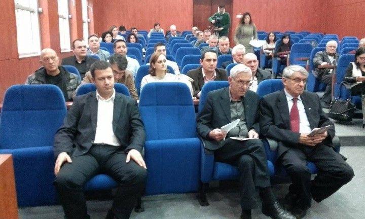 Davinić, Conić i Vladković odlučuju o medijskim projektima u Leskovcu