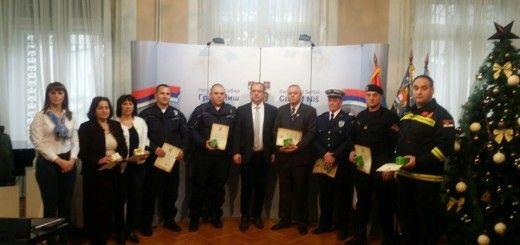 Nagrade za radnike hitnih službi u gradu