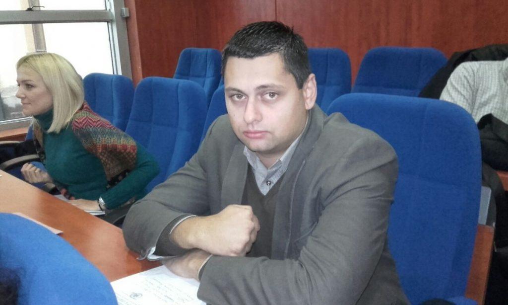 Aleksandar Stojanović u Nacionalnoj asocijaciji mladih