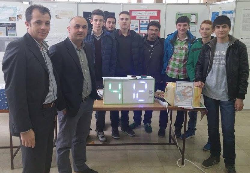 Leskovački učenici nagrađeni za jedinstveni LED indikator