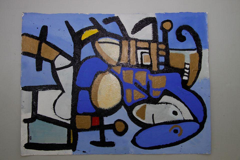 Izložba slika Slavka Radišića u galeriji Art 55