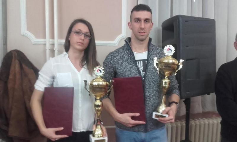 Miroslav Kocić i Jelena Stanojević leskovački sportisti godine