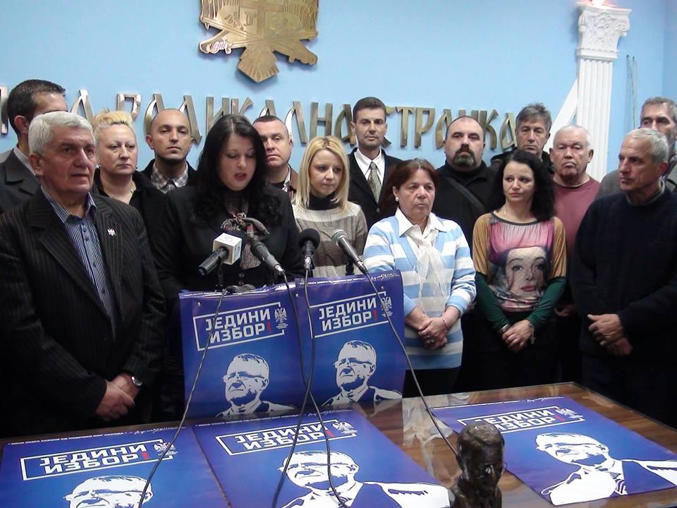 Radikalima najvažniji privreda i Rusija za bolju budućnost Srbije