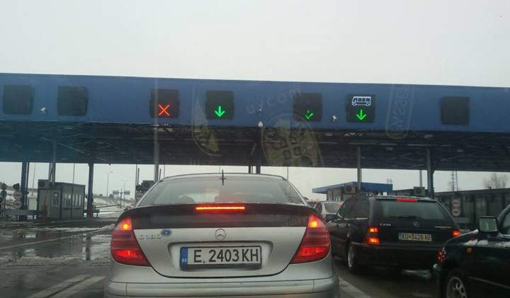 Saobraćaj do makedonske granice se odvija bez zastoja